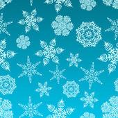 Snowflakes pattern — Cтоковый вектор