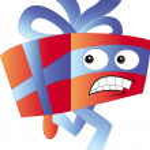 Постер, плакат: Running gift character