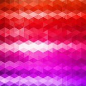 Pattern of geometric shapes. Triangle mosaic backdrop. — 图库矢量图片