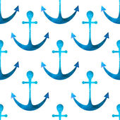 Anchor seamless background. Retro pattern of geometric shapes. C — Vetorial Stock