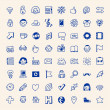 Simple internet hipster icons set — Stock Vector #51488807
