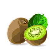 Fresh kiwis — Stock Vector
