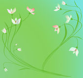 Spring background. — Stock Vector