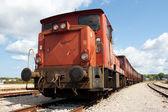 Old train — Stock Photo