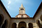 Euphrasian Basilica in Porec — Stock Photo