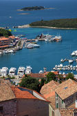 Sea port in city of Vrsar — Stockfoto