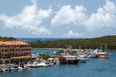 Sea port in city of Vrsar — Stock Photo