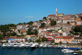 Sea port in city of Vrsar — Stock Photo