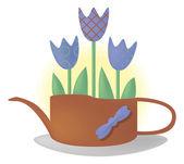 Garden bouquet — Stock Vector