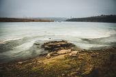 Lago helado — Foto de Stock
