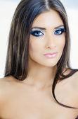 Ojos azules sexy — Foto de Stock
