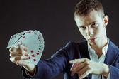 Magician — Stock Photo