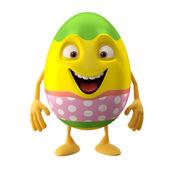 Cute Easter egg — Stock Photo
