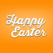 Inscription Happy Easter — Stock fotografie