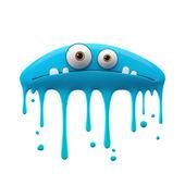 Blaue monster — Stockfoto