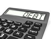 Calculator with DEPT on display. — Stock Photo