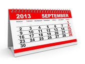 Calendar September 2013. — Stock Photo