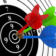 Darts. Success concept. — Stock Photo