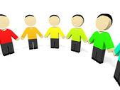 3D people. — Stock Photo