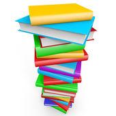 Stapel boeken. — Stockfoto