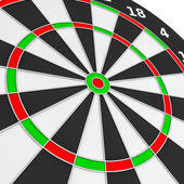 Dartboard. — Stock Photo