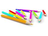 Coloured pencils. — Stock Photo