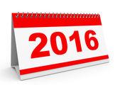 Kalendarz 2016. — Zdjęcie stockowe