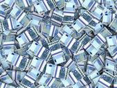 Antecedentes de los billetes de euro. — Foto de Stock
