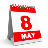 Calendar. 8 May. — Stock Photo