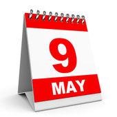 Calendar. 9 May. — Stock Photo