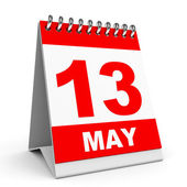 Calendar. 13 May. — Stock Photo