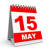 Calendar. 15 May. — Stock Photo