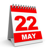 Calendar. 22 May. — Stock Photo