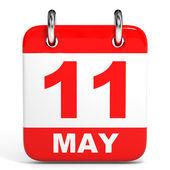 Calendário. 11 maio. — Fotografia Stock