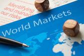 World Markets — Stock Photo
