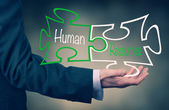 Recursos humanos — Fotografia Stock