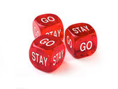 Go or Stay — Stock Photo