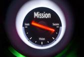 Mission Concept — Stock Photo