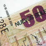 Peruvian Currency — Stock Photo #50397799