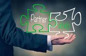 Partnership Concept. — Stock Photo