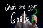 Jakie są twoje cele — Zdjęcie stockowe