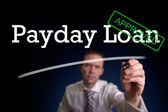Payday Loan — Stock Photo