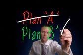 Plan B Concept — Stock Photo