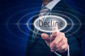 Decline Concept — Stock Photo