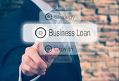 Business Loan Concept — Stock Photo