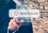 Human Resources Concept — Stock Photo