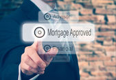 Mortgage Loan Approval Concept — Stock Photo