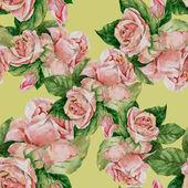 Seamless roses pattern — Stock Photo