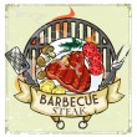 BBQ Grill logo design — Stock Vector #43415511