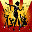 Jazz band — Vector de stock  #43417757